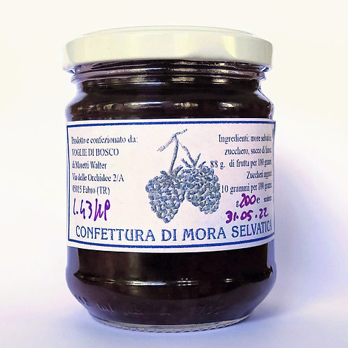 Confettura Extra di Mora selvatica - 88% di frutta