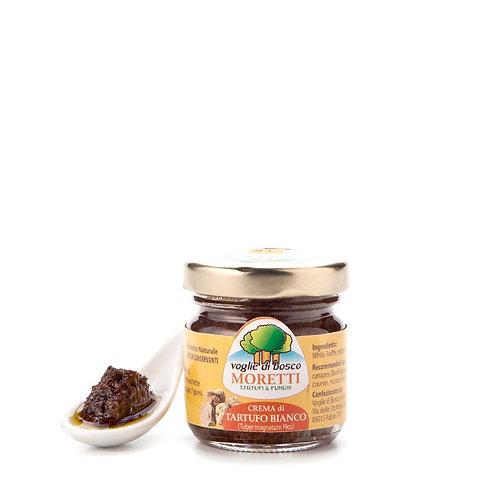 Crema di Tartufo Bianco Pregiato, olio EVO, sale - 100% italiano