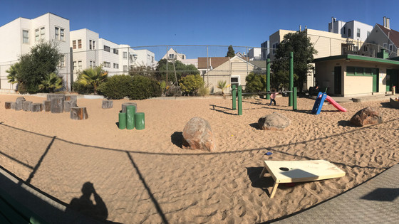 Playgrounds for Children, or Convenience for Maintenance?