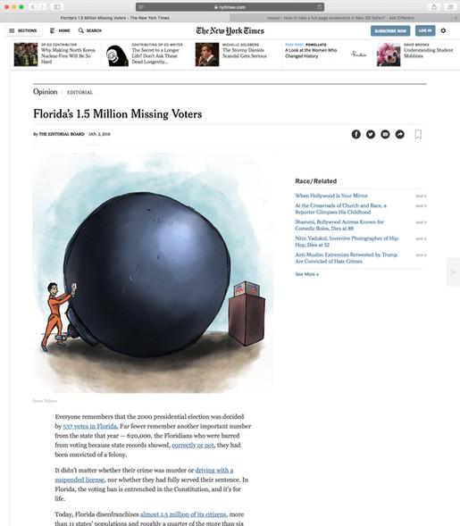 FLORIDA'S 1.5 MILLION MISSING VOTERS