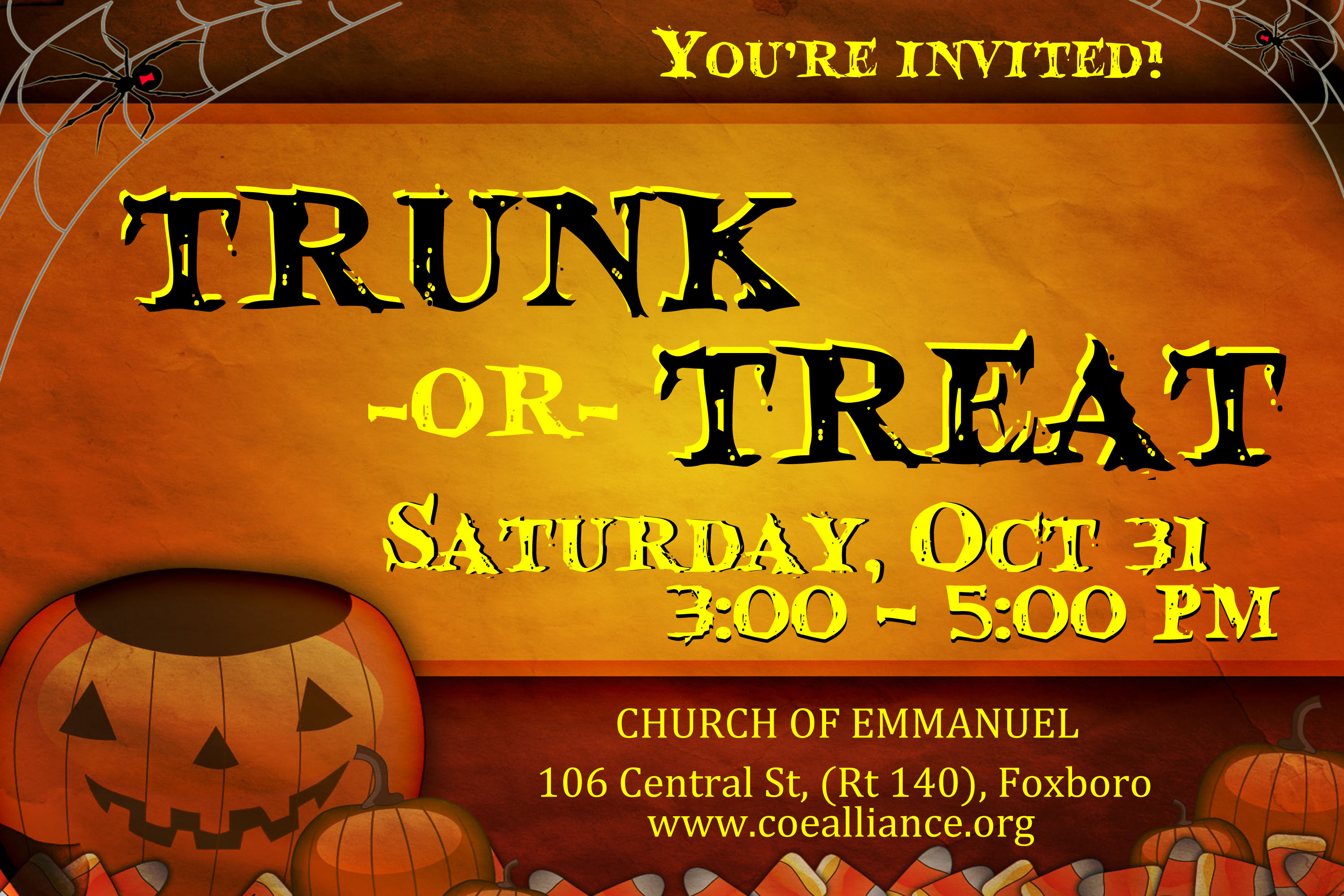 Trunk or Treat Invite