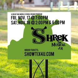 Shrek Yard Sign