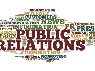 Public Relations: All the Various Forms
