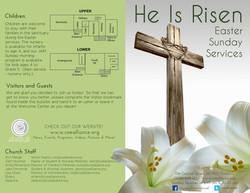 Easter Bulletin