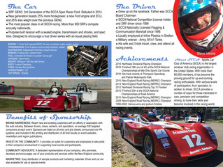 Introne Racing Sponsorship Opportunities