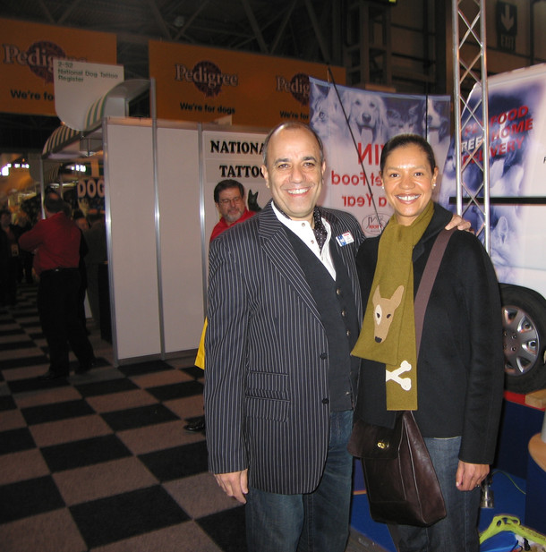 With Jade at Crufts