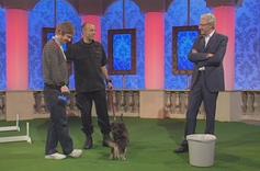 With Martin Freeman on the Paul O'Grady Show