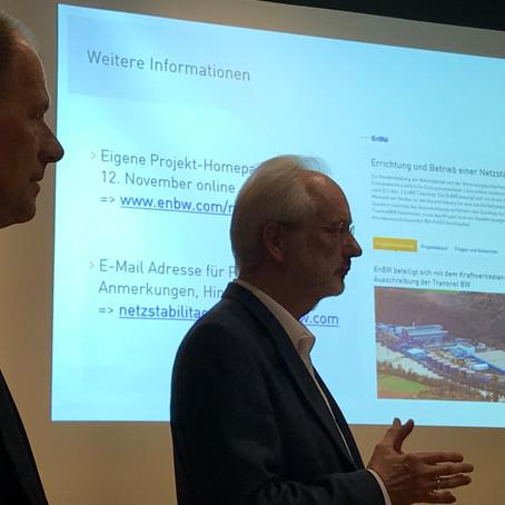 2. CDU Streifzug - EnBW - Bau eines Netzstabilisierungskraftwerks in Marbach