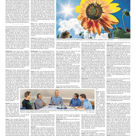 """Florian Petschl im Interview bei der MZ - """"Landwirte vermissen Vertrauen - ist eine Wende nötig?"""""""