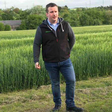 Florian Petschl im SWR - Landwirtschaft und Volksbegehren Artenvielfalt