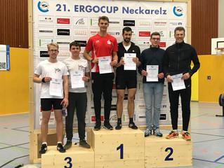 Marbacher lassen die Ketten rasseln – Vereinssieg und 7 Einzelsiege beim ErgoCup in Neckarelz