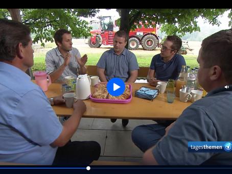 Florian Petschl - ARD Tagesthemen vom 08.08.2019 - Landwirtschaft