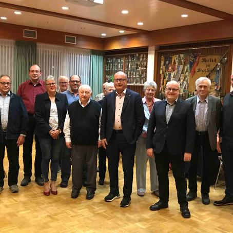 Neue Köpfe im Vorstand des CDU Stadtverbandes Marbach