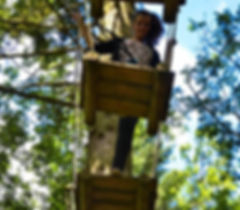 parc beauregard aventure sud accrobranche parcours dans les arbres pintball caen calvados loisirs sortie falaise