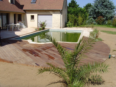 terrasse bois - riva paysage