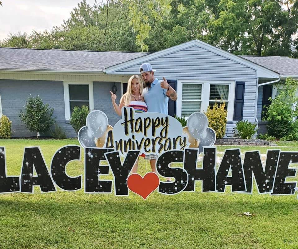 Happy Anniversary to Lacey and Shane from the show Love after Lockup!!!
