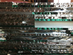 Stacked laminated glass