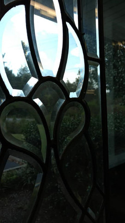 Leaded glass - beveled glass