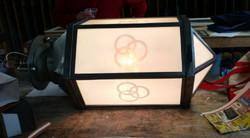 Ballentine Beer lamp repair