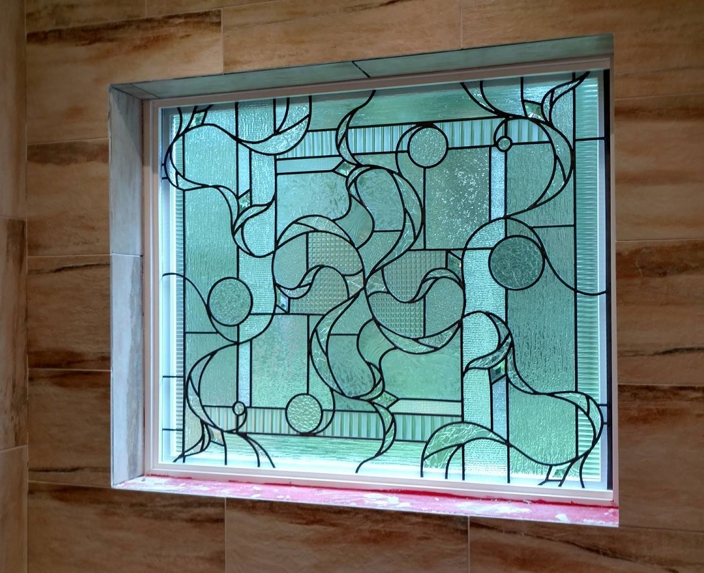 Contemporary leaded glass