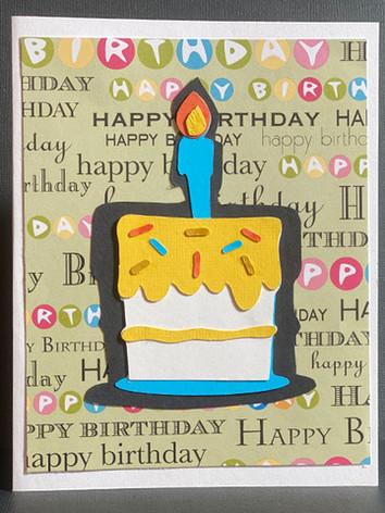 Happy Birthday (Cake)