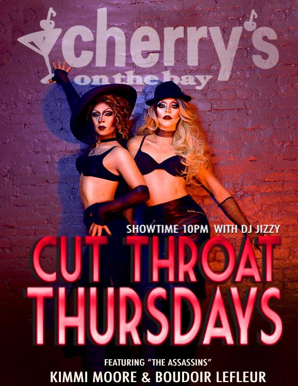 Cut Throath Thursday at Cherrys
