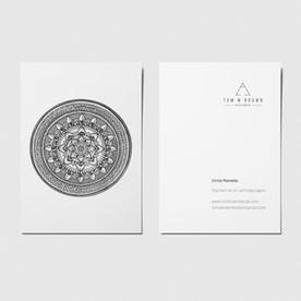 Circle Mandala - A6