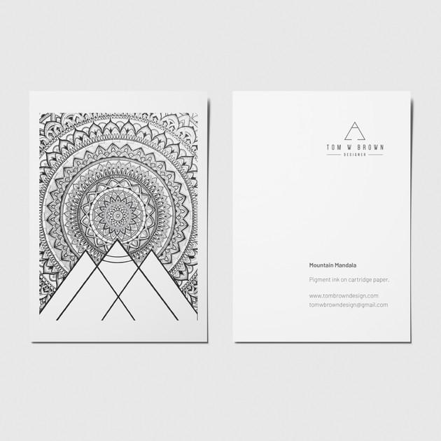 Mountain Mandala - A6