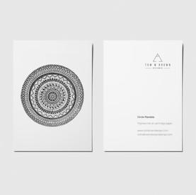Circle mandala II - A6