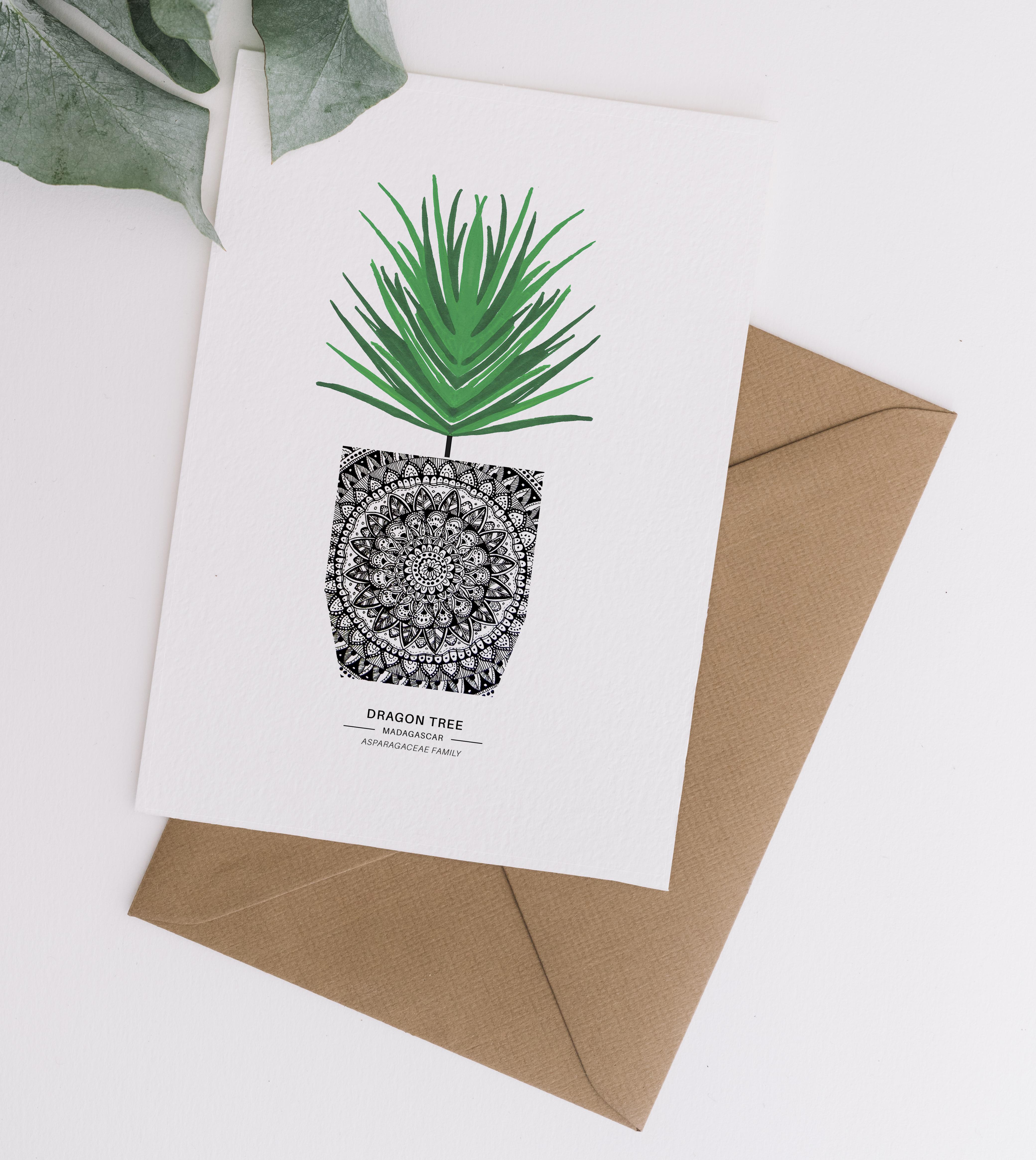 Card & Envelope Dragon