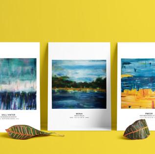 Abstract Seascape Set - A5