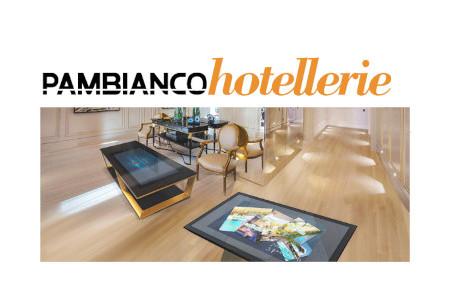 """PAMBIANCO HOTELLERIE: """"L'HOTEL DEL FUTURO VA IN SCENA SU THEATER"""""""