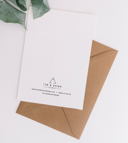 Card & Envelope Back
