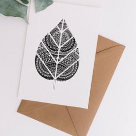 Leaf Mandala - A6