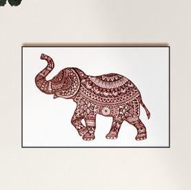 Elefante Gorria - A4