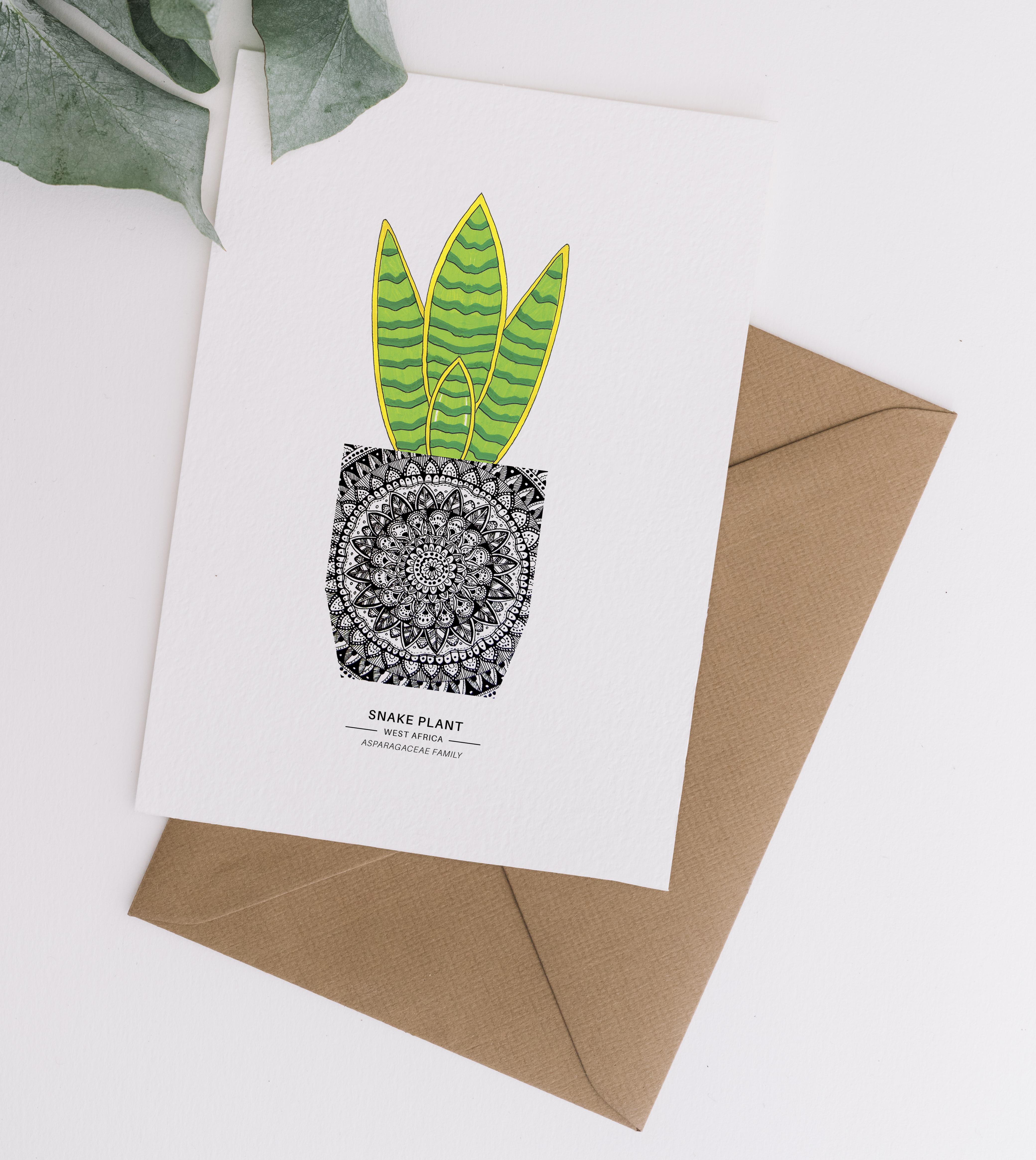 Card & Envelope Snake