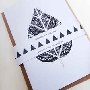 Pack of 5 Mandala Cards