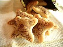Foto ilustrativa de biscoito Koala, no desenho do biscoito o koala está chorando