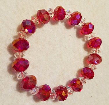 10mm Swarovski Crystal Bracelet                             Healing the Heart.