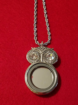 Sun-Moon Owl Necklace