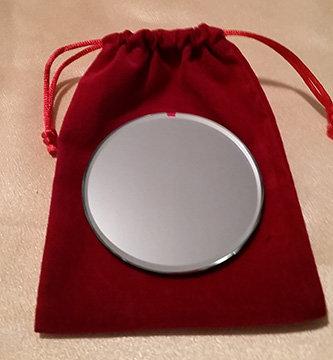 "3"" Sun-Moon Mirror                 Sacred Clearing Tool"