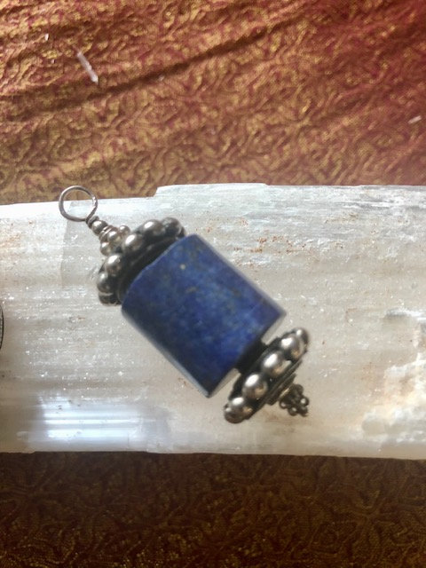 Lapis Lazuli Prayer Wheel