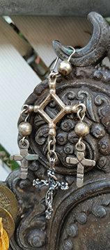 Mexican Cross Earrings