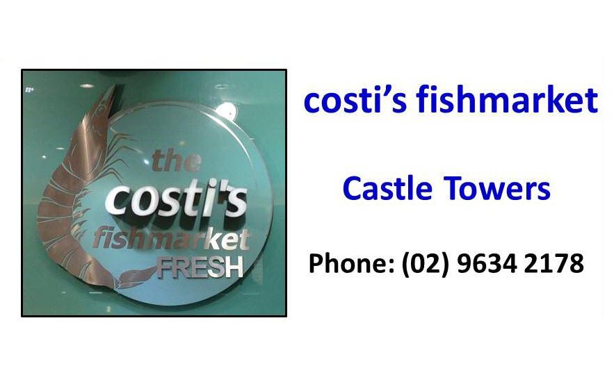 Costis Fishmarket Castle Towers