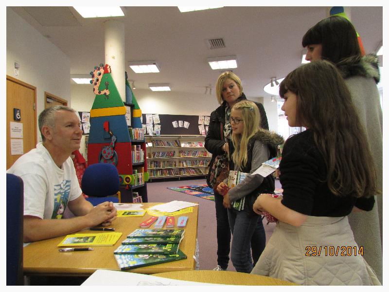 Braintree Library Visit