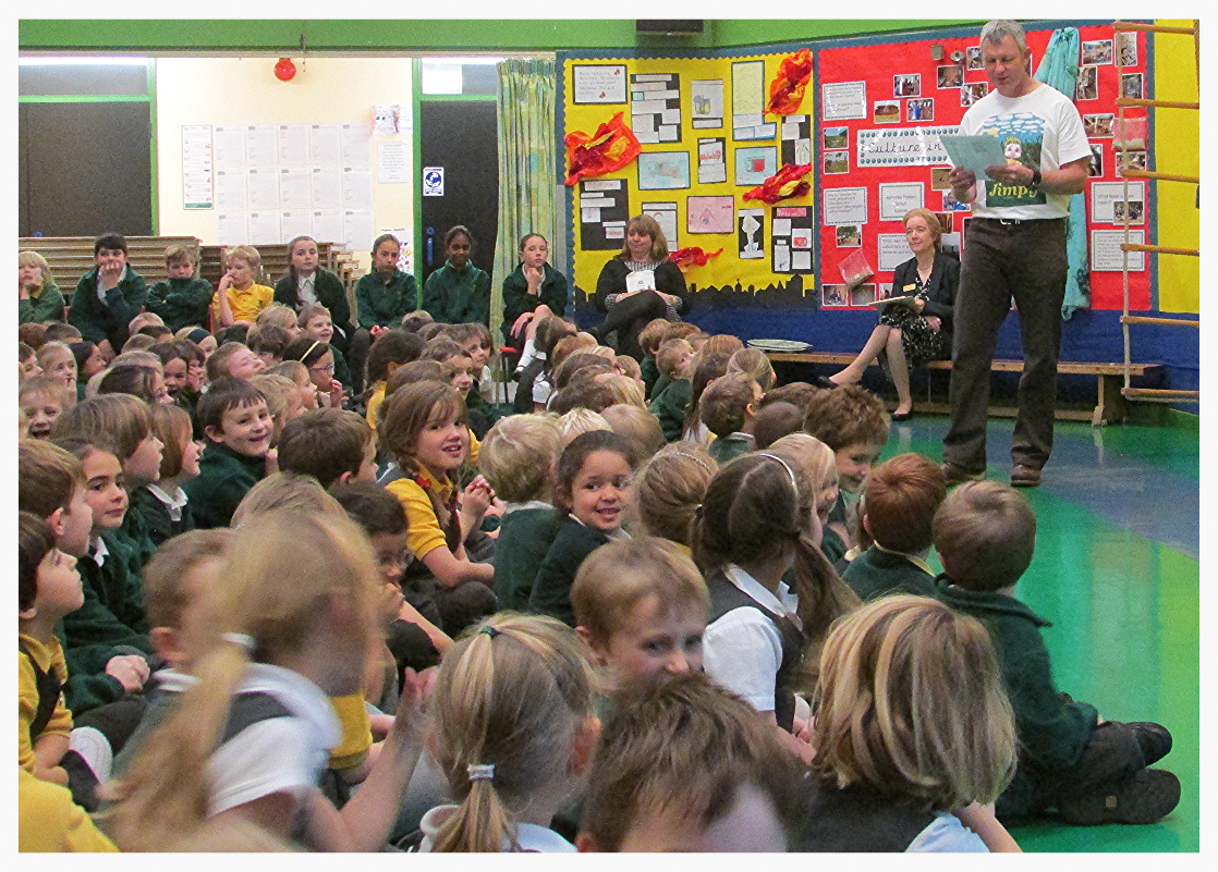 St Peters Coggeshall Author Visit