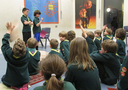 Coggeshall Cubs Visit