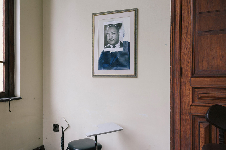 Retrato de Martin Luther King Jr.