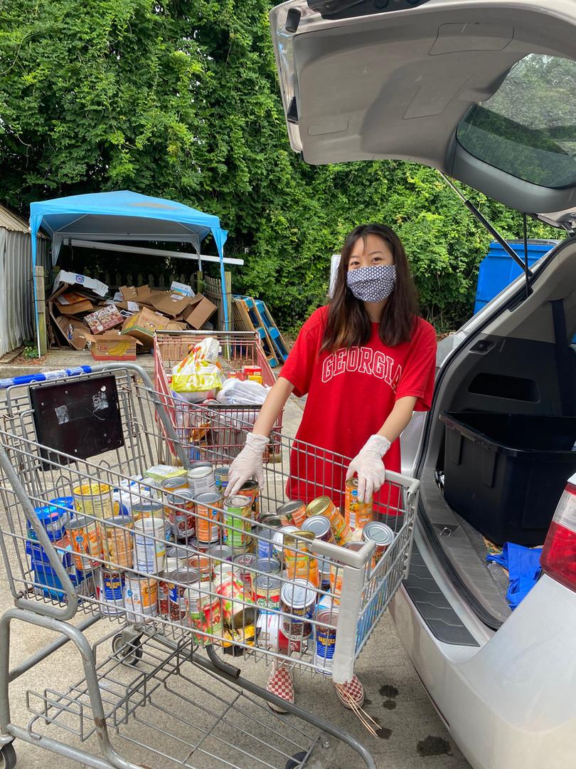 Delivering Canned Foods