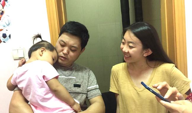 Jing Jing meeting Joy